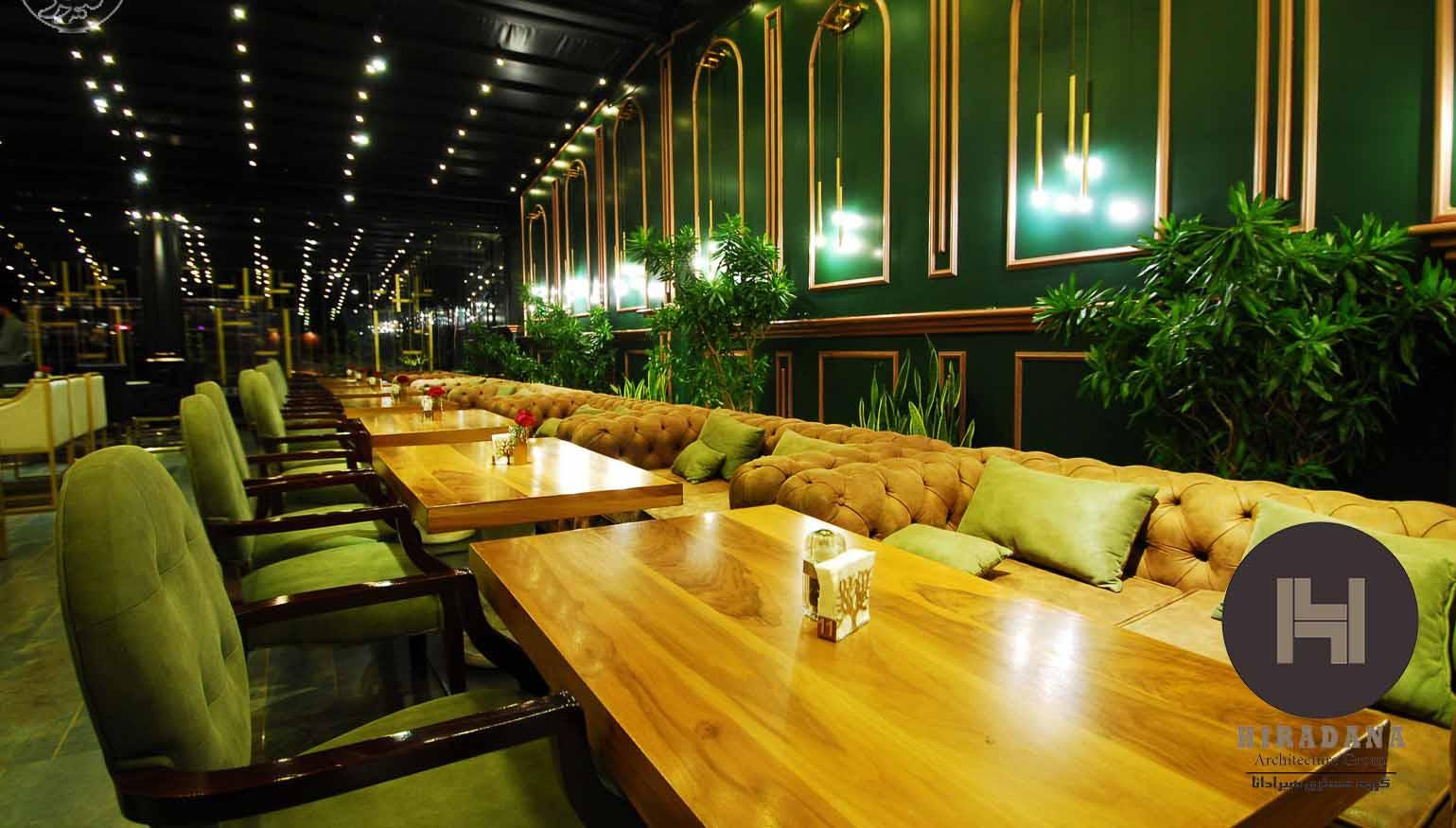 طراحی رستوران روبل