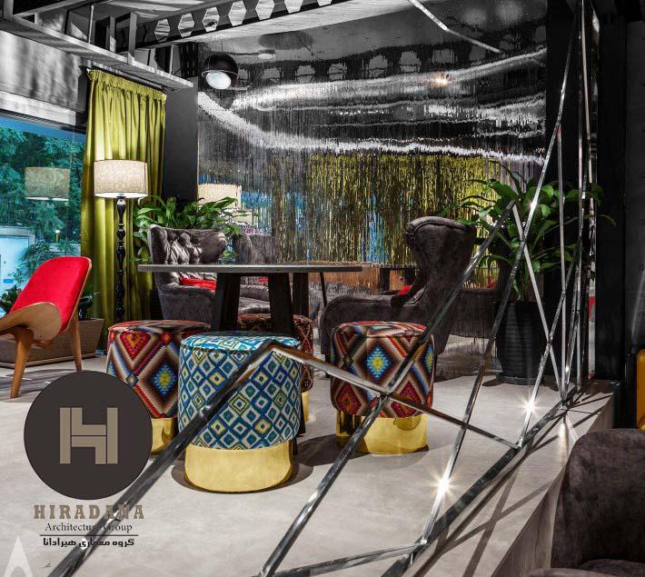 طراحی داخای رستوران لوار بیسترو
