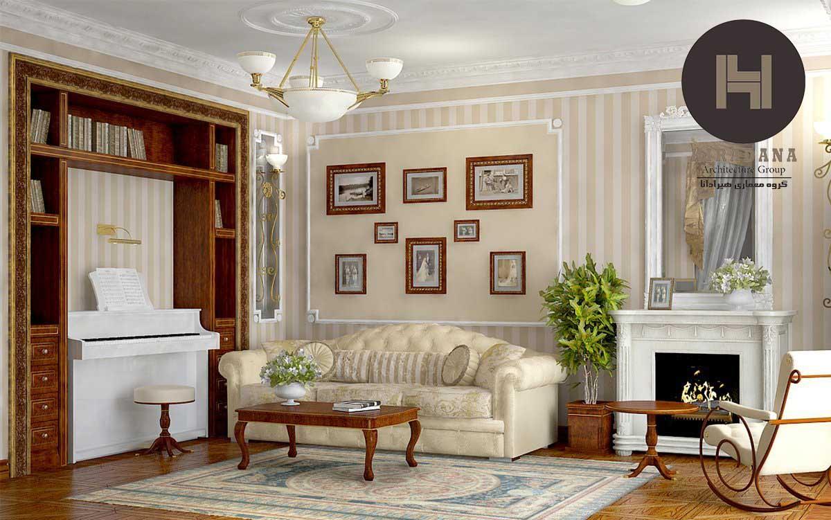 رنگ و بافت در سبک کلاسیک