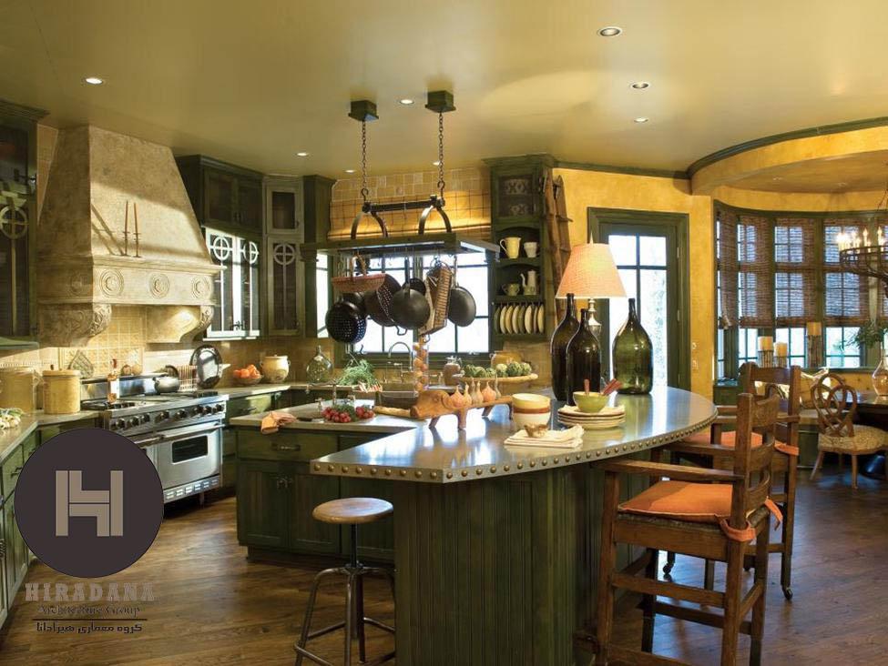 آشپزخانه سبک سنتی