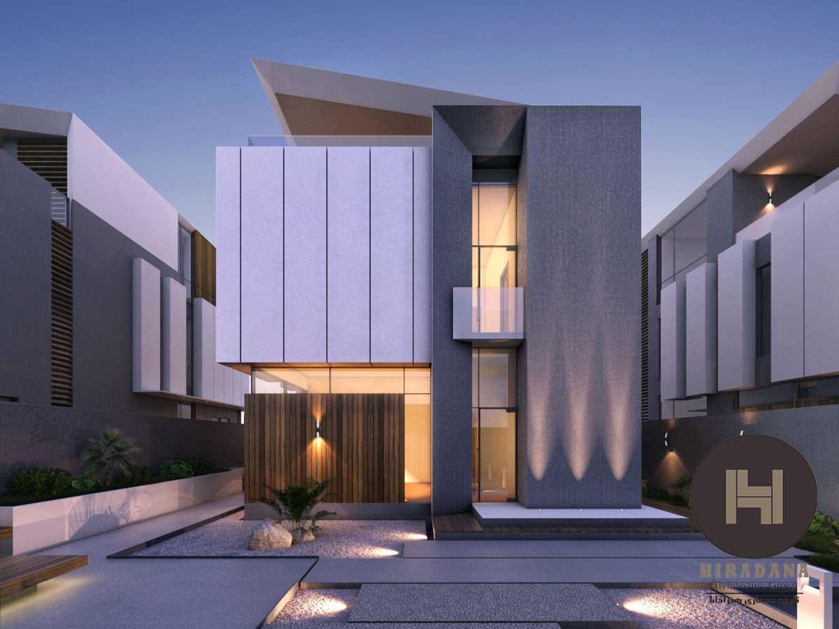 ایده هایی مدرن برای طراحی نمای ساختمان