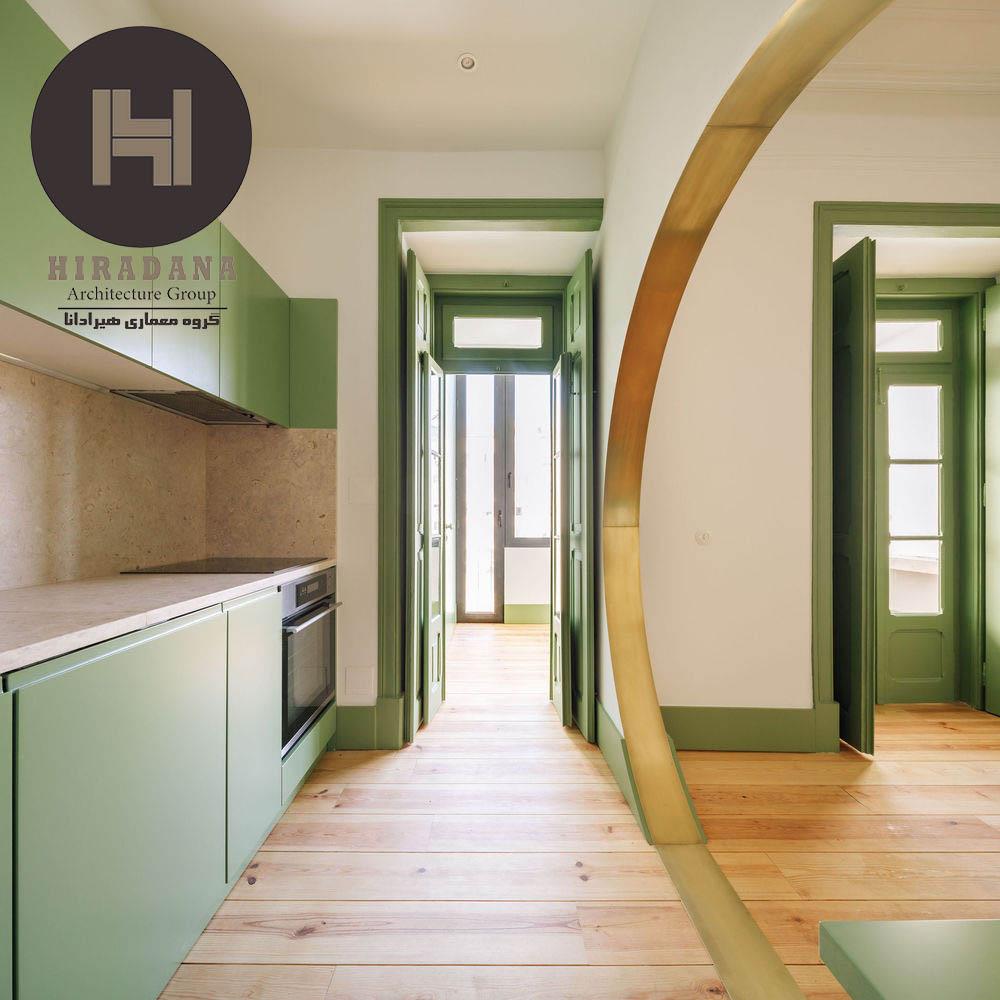 استفاده از رنگ سبز در دکوراسیون داخلی منزل
