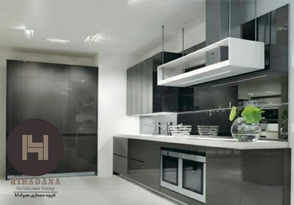 استفاده از رنگ های تیره در دکوراسیون آشپزخانه