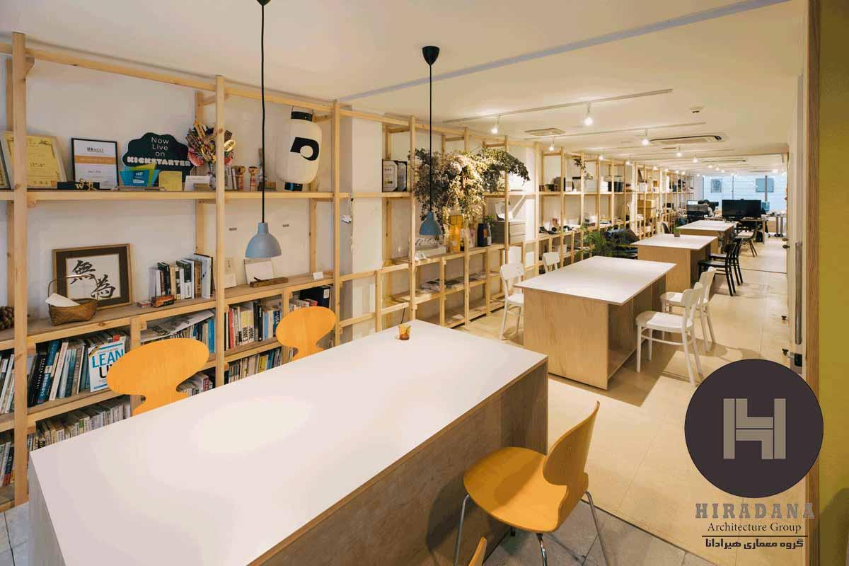 بازسازی ساختمان و دکوراسیون اداری کوچک