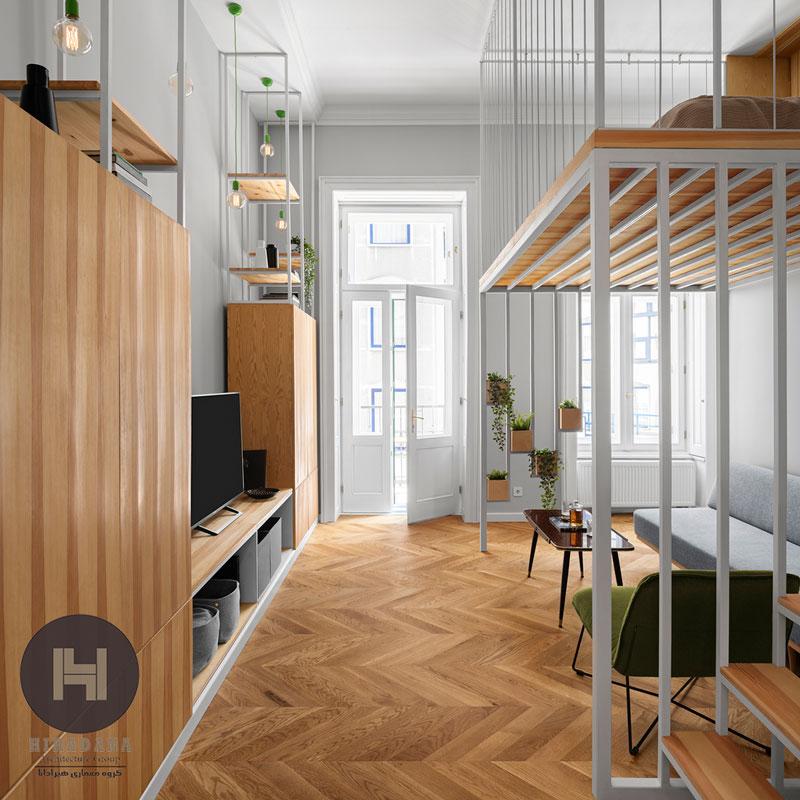 بازسازی ساختمان و طراحی دکوراسیون داخلی با فلاورباکس