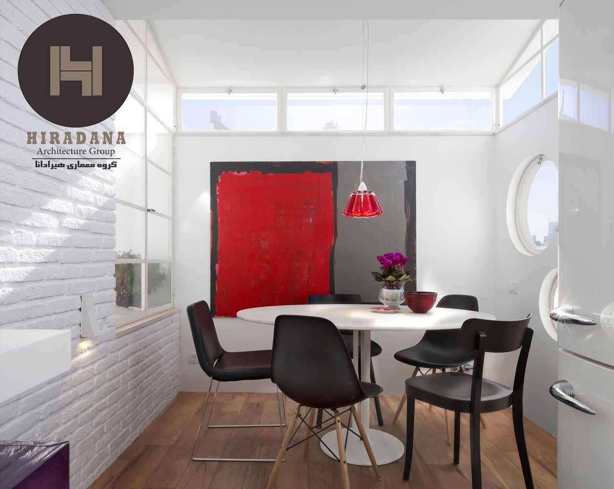 بازسازی منزل با استفاده از آجر دکوراتیو سفید