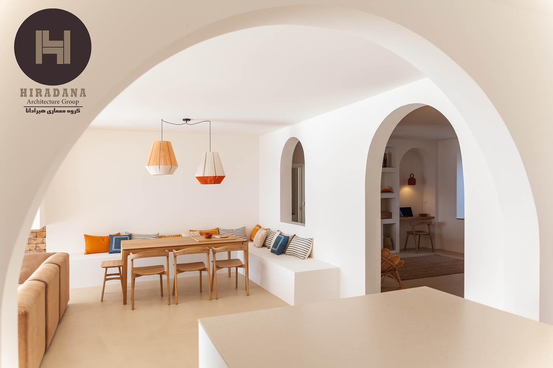 بازسازی منزل به سبک مینیمال روستیک