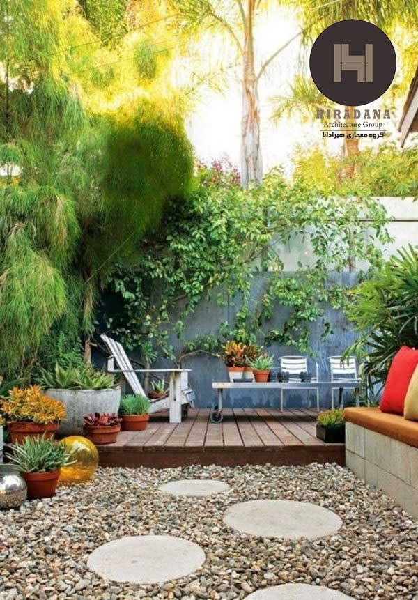 بازسازی باغ در ارومیه