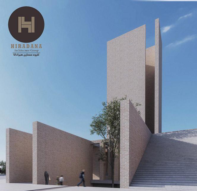 طراحی معماری ساختمان گلشهر پلازا