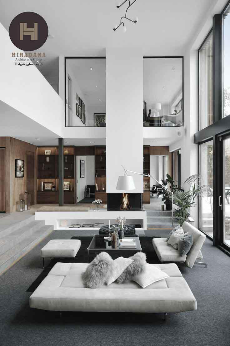 نحوه بازسازی ساختمان به سبک مدرن