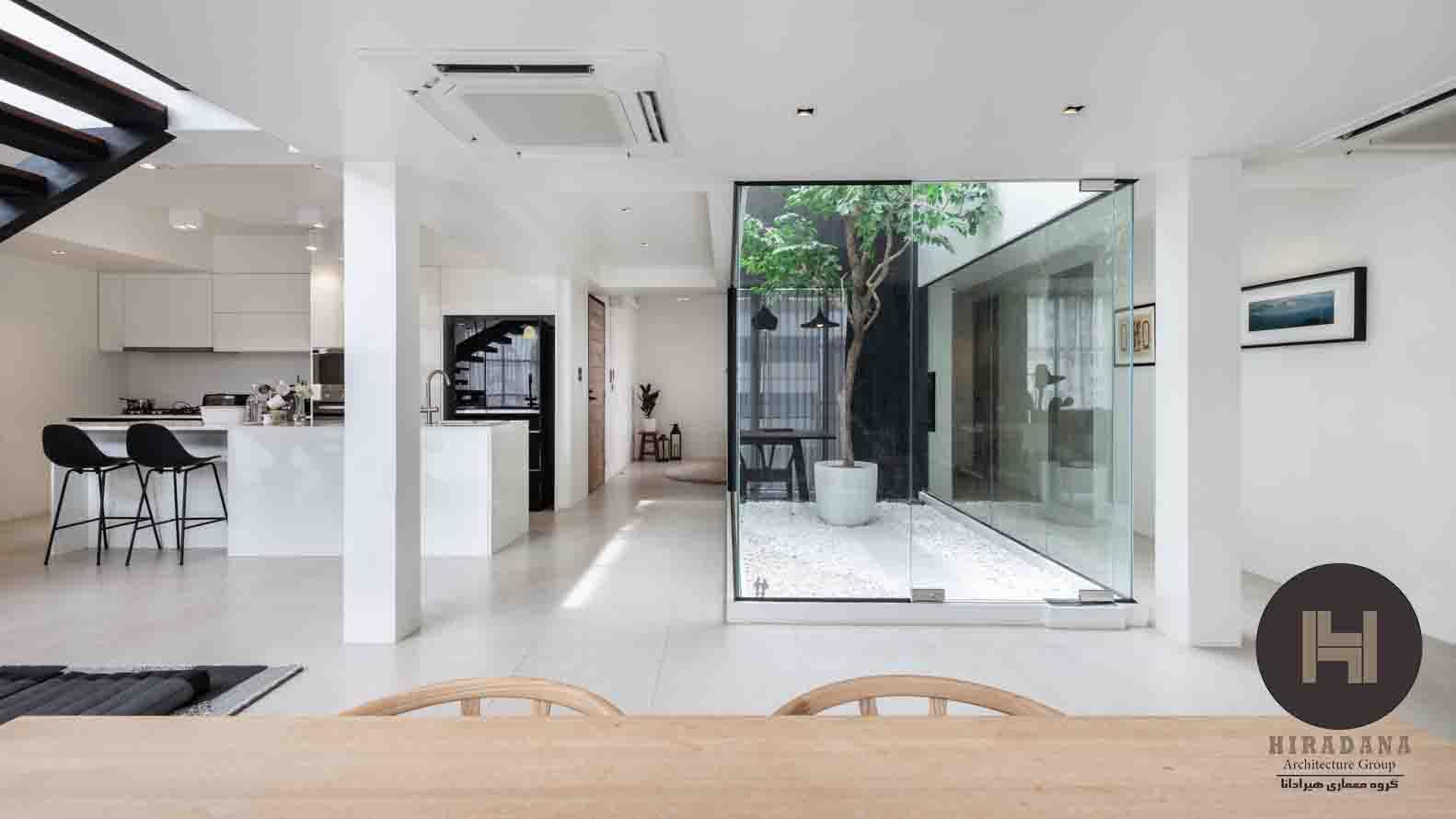 دکوراسیون داخلی آپارتمان به سبک مدرن