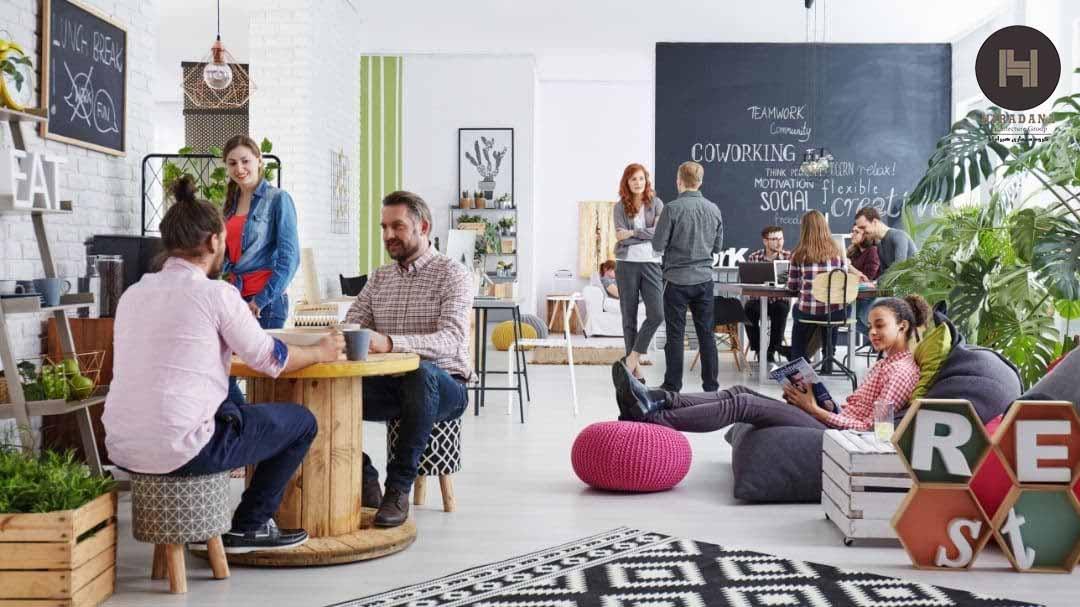 طراحی اتاق استراحت در فضاهای اداری و کاربرد آن