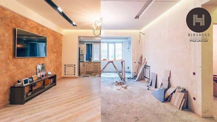 هزینه ی بازسازی ساختمان و تغییرات آن چه میزان است ؟