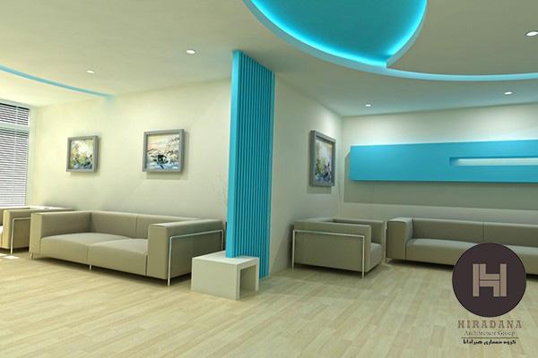 طراحی داخلی مطب روانشناسی