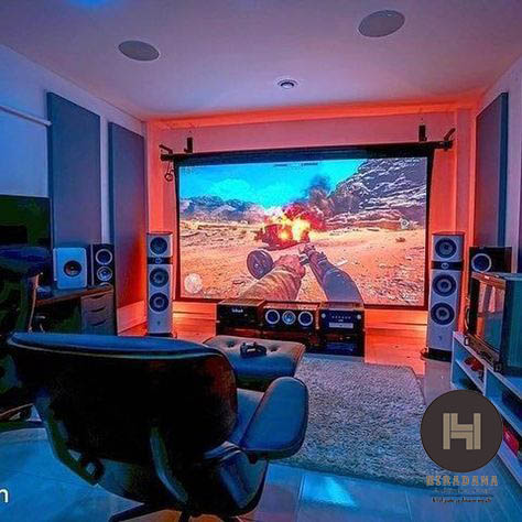 طراحی داخلی اتاق بازی و گیمینگ در خانه