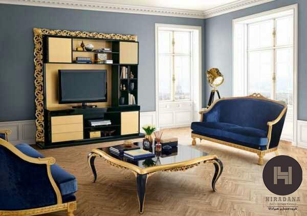 دکوراسیون داخلی رنگهای هماهنگ با رنگ آبی
