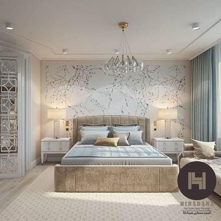 طراحی داخلی اتاق خواب و چیدمان اصولی آن