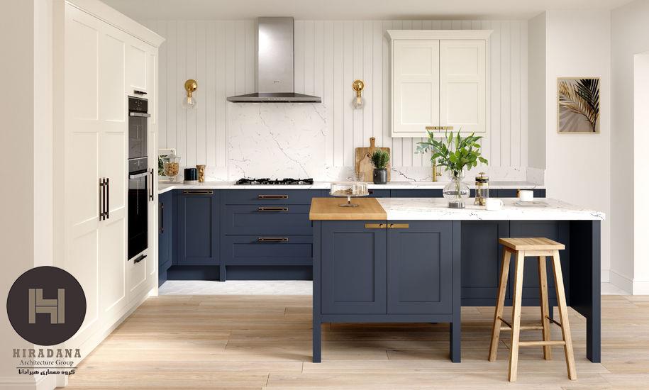 طراحی آشپزخانه به سبک شیکر