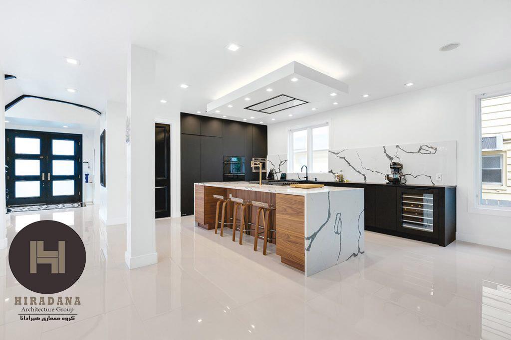 طراحی دکوراسیون آشپزخانه به سبک معاصر