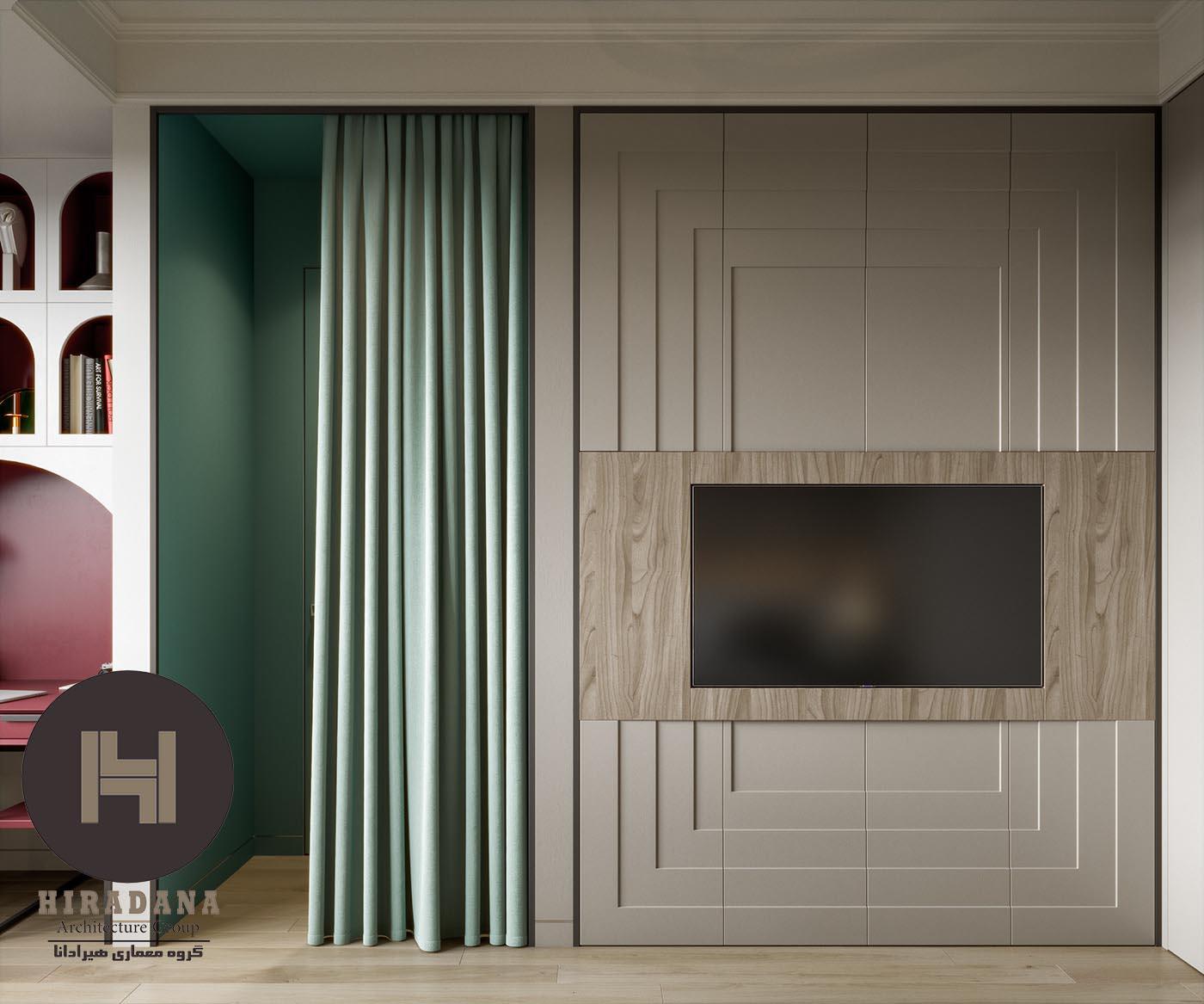 طراحی دکوراسیون اتاق خواب مستر مدرن