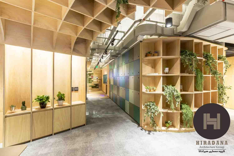 طراحی دکوراسیون اداری با استفاده از گیاهان