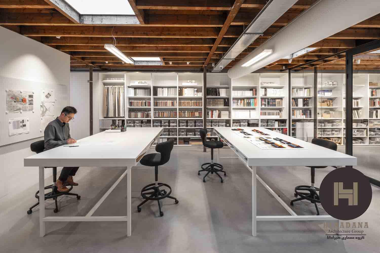 طراحی دکوراسیون اداری به شکل ویلایی