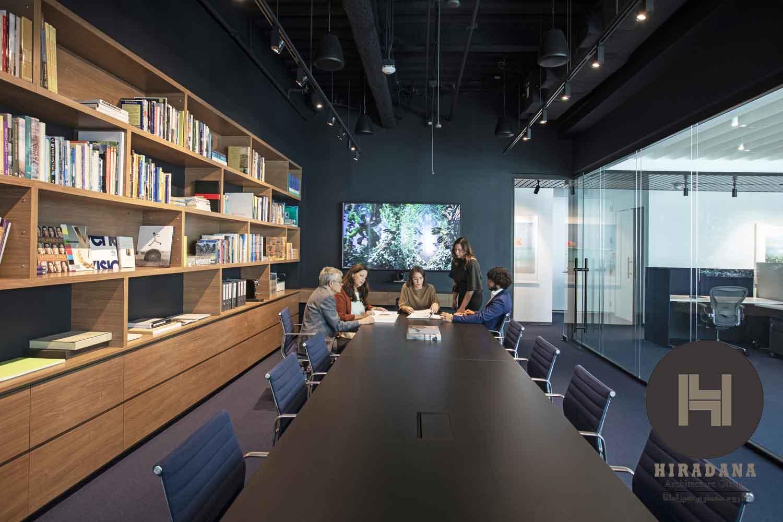 طراحی دکوراسیون اداری دوبلکس