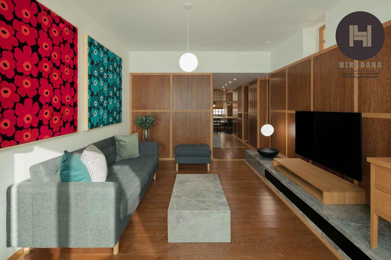 طراحی دکوراسیون داخلی خانه به سبک چینی