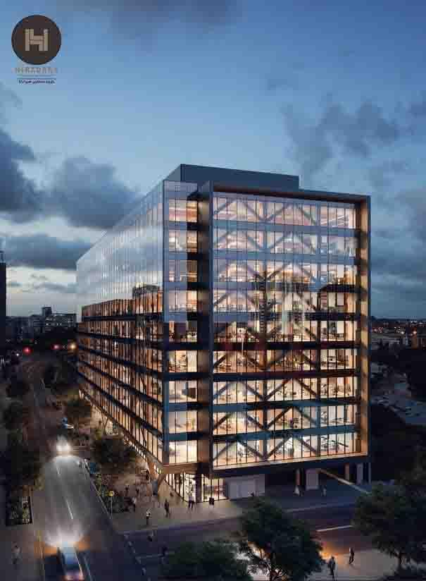 علت افزایش تقاضا طراحی نما مدرن ساختمان های اداری