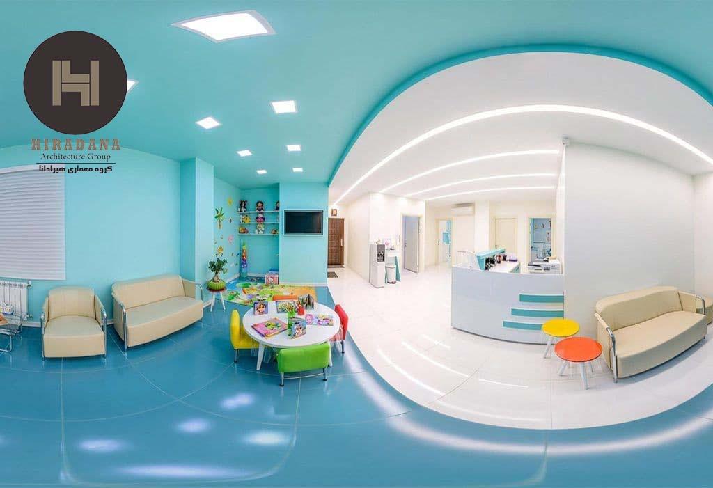 دکوراسیون لوکس مطب با همراهی یک شرکت معماری و دکوراسیون