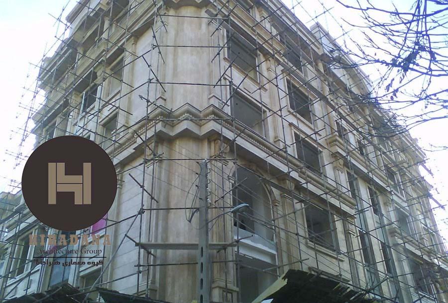 نحوه نصب و اجرای نمای ساختمان
