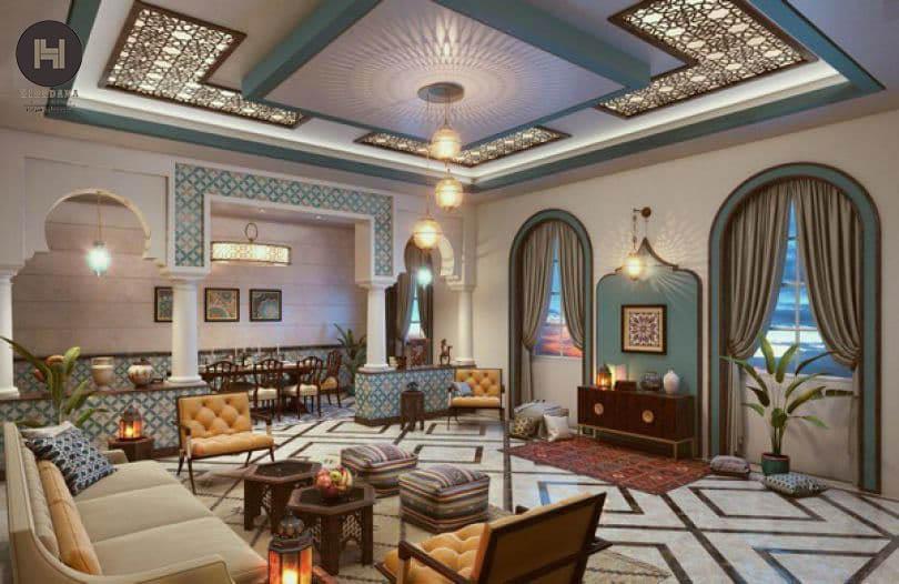 ویژگی های طراحی داخلی به سبک مراکشی