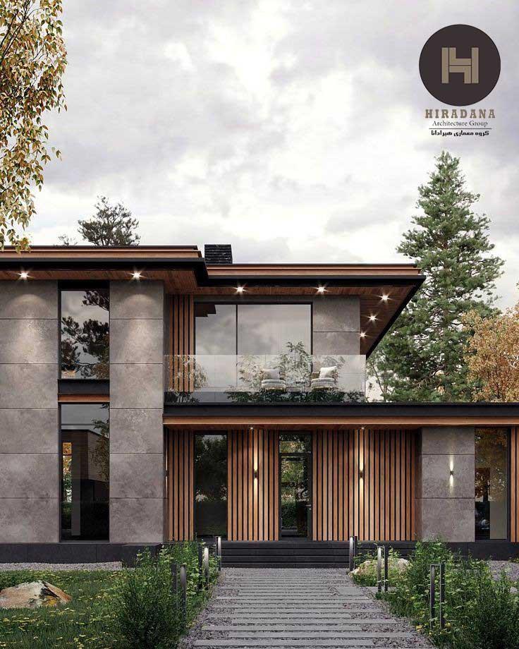 طراحی داخلی ویلا ی مدرن