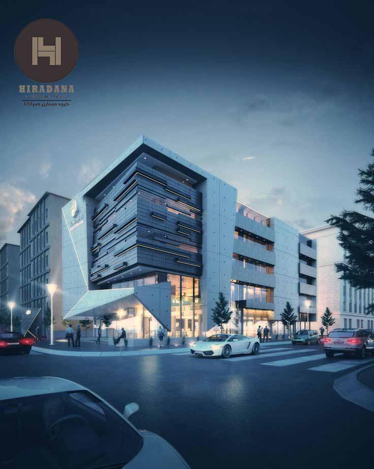 طراحی و اجرای نمای ساختمان های تجاری
