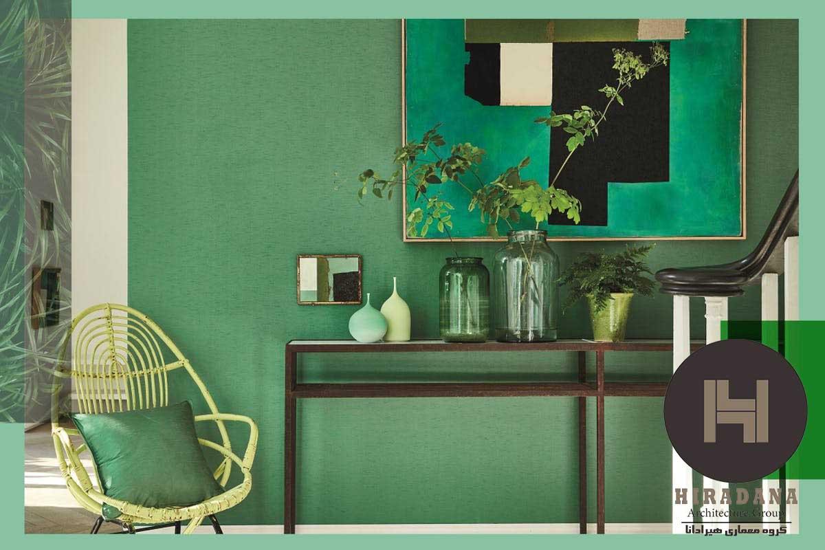 نقش رنگ ها در دکوراسیون داخلی منازل