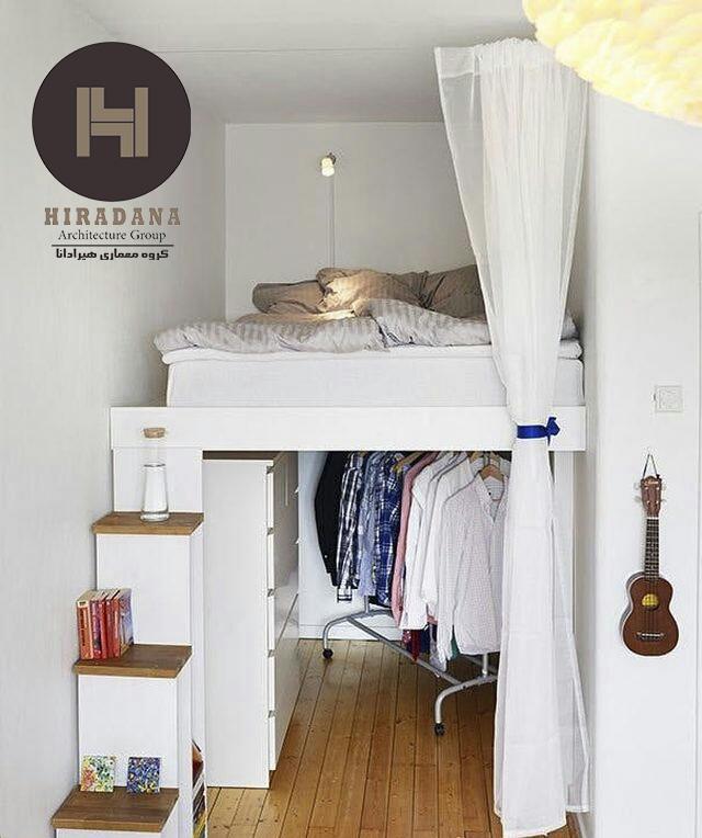 چند ایده برای اتاق خواب های کوچک