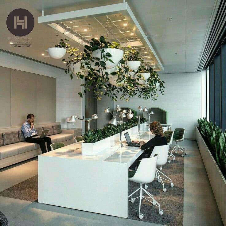 طراحی دکوراسیون لوکس ساختمان های اداری تجاری