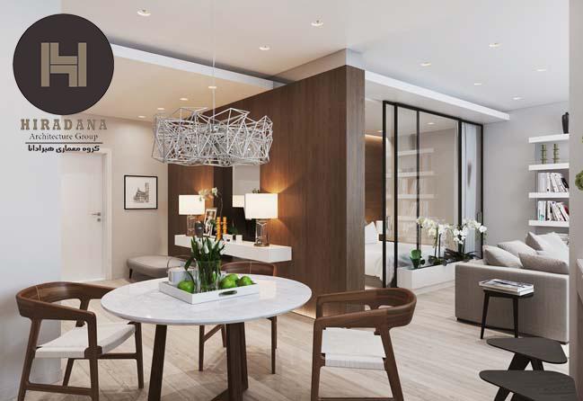 ایده های طراحی داخلی آپارتمان های کوچک