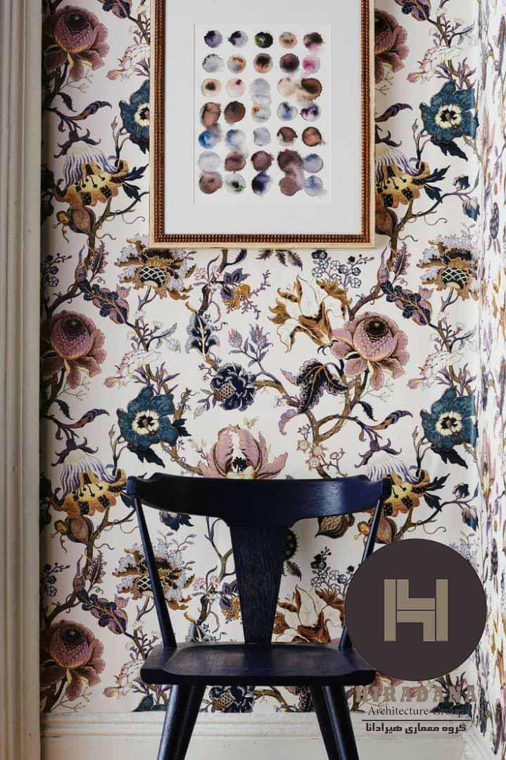 استفاده از کاغذ دیواری در دکوراسیون داخلی منزل