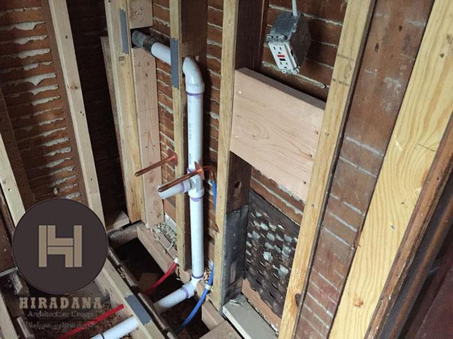 بازسازی ساختمان و لوله کشی