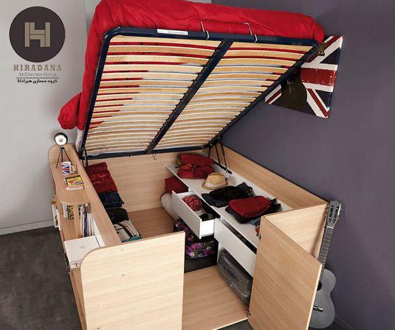 طراحی اتاق خواب های کوچک با 7 ایده کاربردی