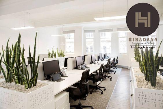 دکوراسیون و طراحی دفتر کار اداری