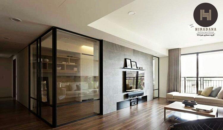 طراحی دکوراسیون منزل و کاربرد های جذاب شیشه