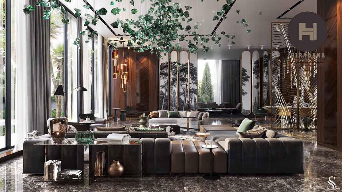طراحی داخلی منزل با سبک دکوراسیون مراکشی