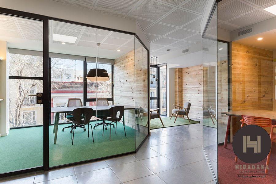 طراحی داخلی با کاربری اداری