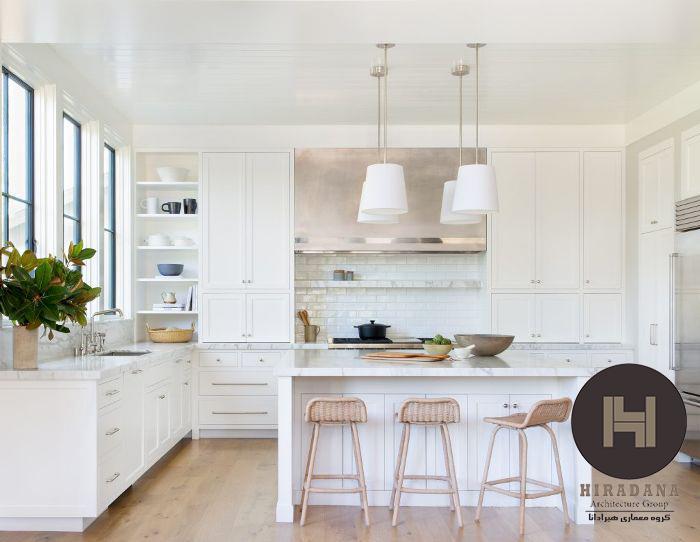 رنگ سفید برای طراحی داخلی منزل