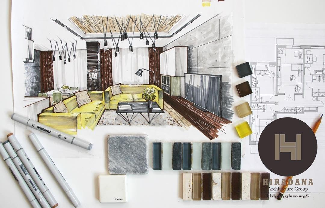 ملزومات رشته طراحی داخلی برای کار