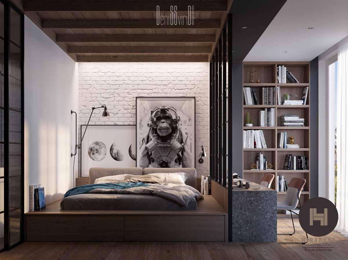 طراحی دکوراسیون اتاق خواب با سلیقه شخصی