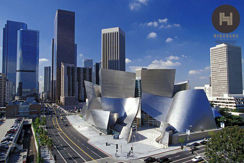 آشنایی با معماری فرانک گری