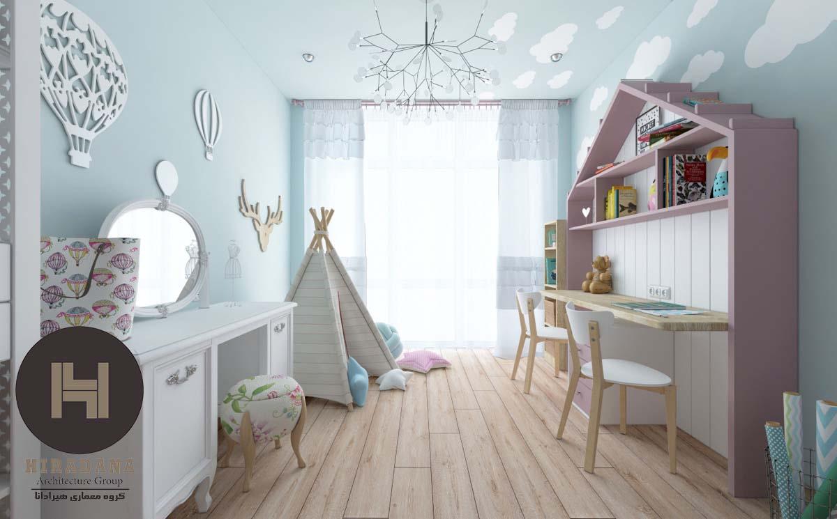 طراحی و دکوراسیون اتاق خواب کودک